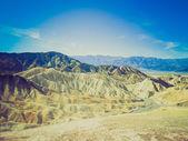 在死亡谷的复古外观布里斯点 — 图库照片