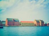 Retro look Copenhagen Danmark — Stock Photo