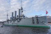 Aurora ship in St Petersburg — Foto Stock