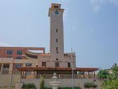 Torre de reloj Bata içinde — Stok fotoğraf
