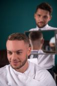Professional  hairdressing salon — Stock Photo