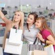 Use of phone at shopping — Stock Photo #68775335