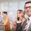 Top manager at the meeting — Stock Photo #69494561
