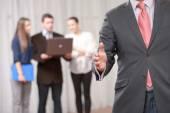 Handshake at the business meeting — Stock Photo