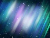 Aurora background — Stock Photo