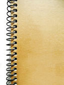 Vintage notebook with spiral — Stockfoto