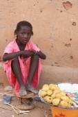 Afrykańska dziewczyna — Zdjęcie stockowe