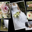 Wedding collage — Stock Photo #57126035