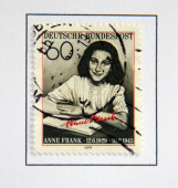 Anne Frank. — Stock Photo