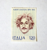 Albert Einstein — Stock Photo