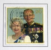 Queen Elizabeth and Prince Philip — Stock Photo