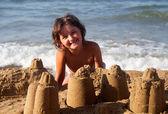 Beach games — Stock Photo