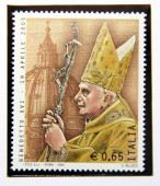 Pope benedict XVI — Stock Photo