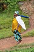 Afrikaanse vrouw — Stockfoto