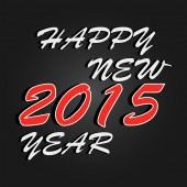 Happy New Year 2015 celebration background. — Stockvektor