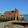 Lobster fishing shack know as Motif Number One — Stock Photo #62821011