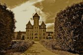 Former State Hospital looks eerie — Stock Photo