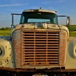 Old pickup truck shows layers of patina — Stockfoto #63833883