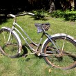 Rusty old bicycle — Stock Photo #79486392