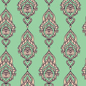 Seamless Arabic ornament — Stock Vector