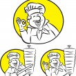 ������, ������: Doner kebab cook