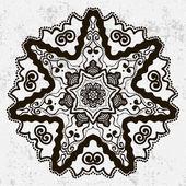 Mandala Round Ornament — Vettoriale Stock