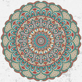 Mandala. ornamento rotonda — Vettoriale Stock
