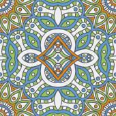 Vintage  Indian seamless pattern — Stock vektor
