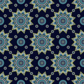 Vintage  Indian seamless pattern — ストックベクタ