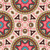 Vintage decorative seamless pattern — Stock Vector