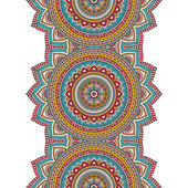 Seamless indian pattern — Stock vektor
