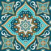 Vintage decorative seamless pattern — Vetor de Stock