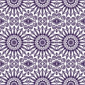 Indian seamless floral pattern — Stock Vector