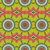 Indian seamless floral pattern — 图库矢量图片