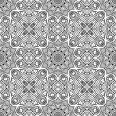 抽象的なベクトルのシームレスなパターン — ストックベクタ