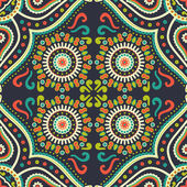 Ethnic background seamless pattern — Stock Vector