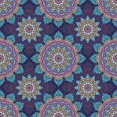 Seamless pattern. Vintage decorative elements — Stock Vector