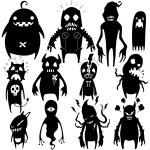 Little Monsters set 02 — Stock Vector #52804619