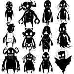 Little Monsters set 03 — Stock Vector #53285951