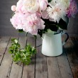 Bunch of peony flowers — Stock Photo #53520375