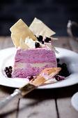 Berry ice cream — Stock Photo