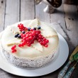 Traditional Christmas Fruit Cake pudding — Stock Photo #70468363
