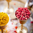 Various Indian spices — Stock Photo #70468855