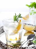 Rosemary fizz cocktail — Stock Photo