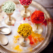 Various Indian spices — Stock Photo #70470449