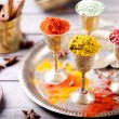 Various Indian spices — Stock Photo #70471479