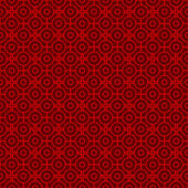 Seamless vintage Chinese window tracery round and square pattern background. — Vector de stock