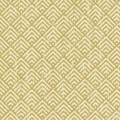 Seamless vintage worn out yellow square check geometry pattern background. — Wektor stockowy