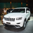 Постер, плакат: JEEP Grand Cherokee at the Geneva Motor Show