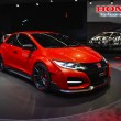 Постер, плакат: Honda Civic Type R concept car at the Geneva Motor Show